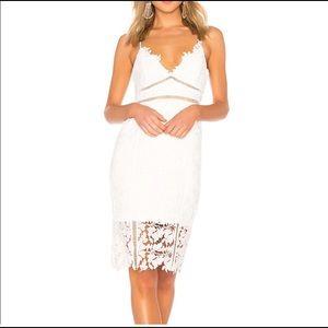 Bardot white dress